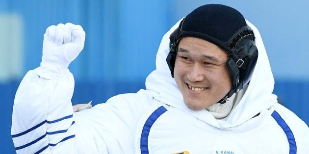 Imagen de archivo del astronauta japonés Norishige Kanai.