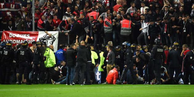 """Le président d'Amiens """"regrette"""" ses propos sur le comportement des fans lillois."""