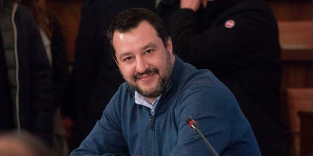 Salvini este viernes.