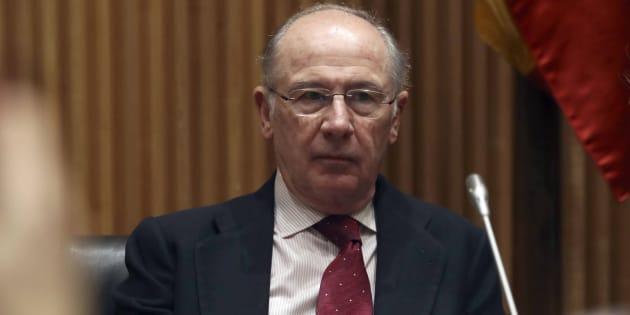 El exvicepresidente y exministro Rodrigo Rato en el Congreso de los Diputados. EFE/J.J. Guillén
