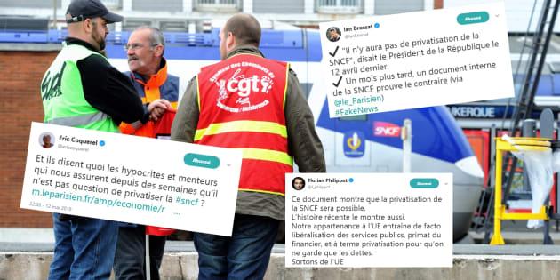 Privatisation de la SNCF: l'opposition inquiète après une réunion au ministère.