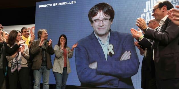 Mitin de Junts per Catalunya