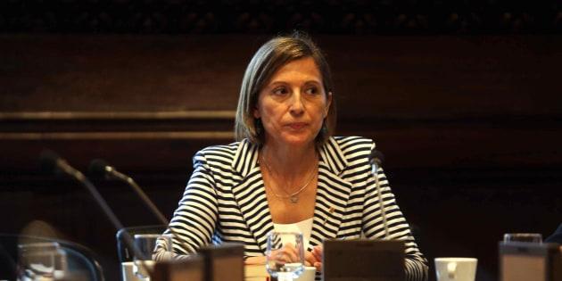 Imagen de archivo de la presidenta del Parlament, Carme Forcadell.