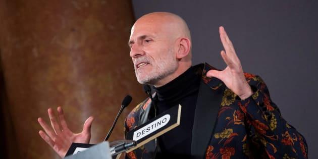 El escritor Alejandro Palomas, Premio Nadal 2018.
