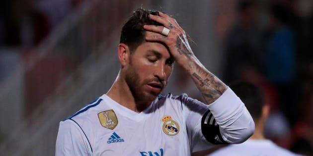 Imagen de archivo del jugador de Real Madrid, Sergio Ramos.