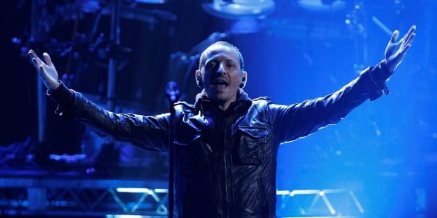 Chester Bennington en los American Music Awards en Los Angeles en noviembre de 2012.