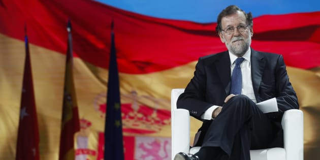 Mariano Rajoy, en la convención nacional del PP.