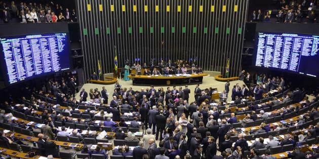 A Câmara dos Deputados tem 513 parlamentares, eleitos pelo sistema proporcional de lista aberta.
