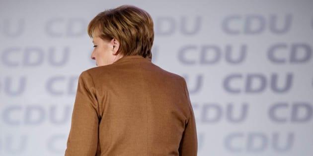 Imagen de archivo de la canciller alemana Angela Merkel.