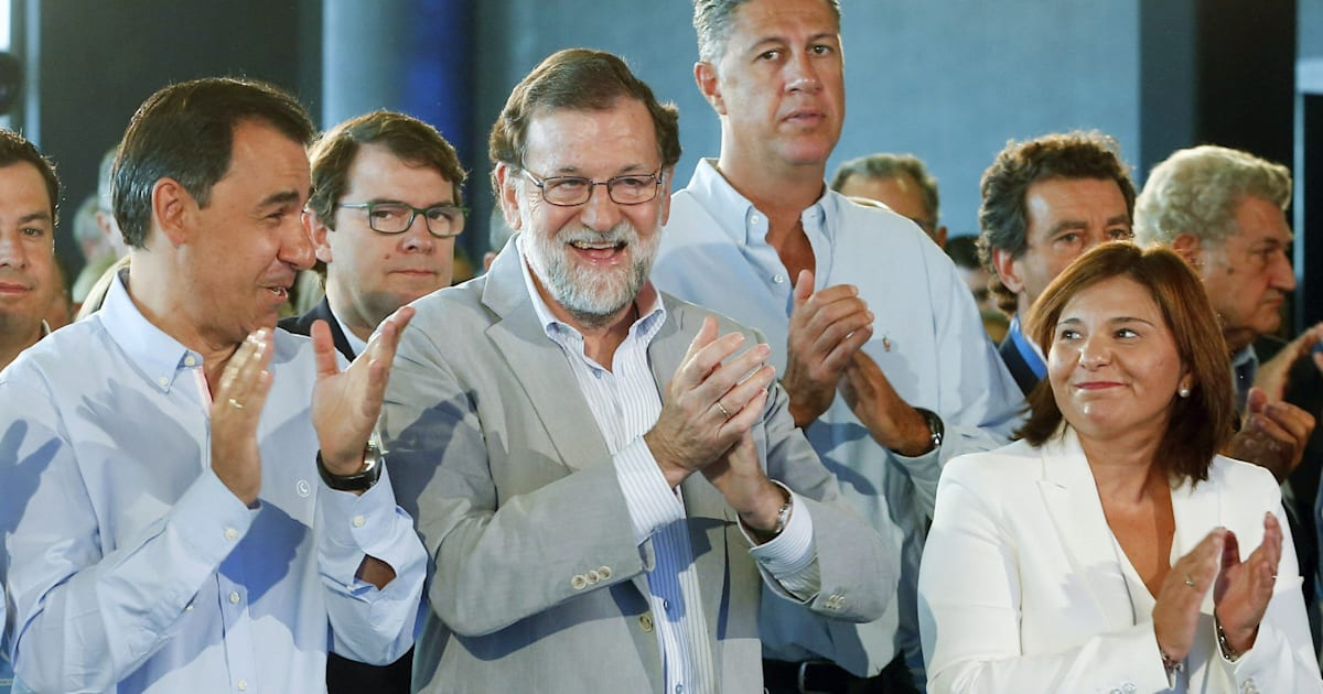 """Rajoy, a los independentistas catalanes: """"Nadie va a liquidar la democracia española"""""""