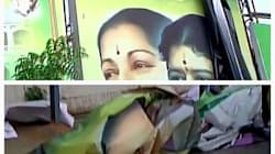 Sasikala Posters Removed From AIADMK