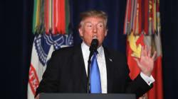 Trump descarta retirada de Afganistán y los talibanes prometen