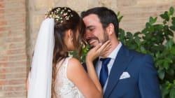 Las imágenes de la boda de Alberto Garzón y Anna