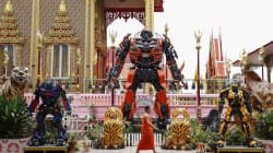 Un templo budista se convierte en
