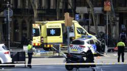 Van Plows Into Pedestrians At Barcelona Tourist