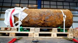 Desactivada la bomba de la Segunda Guerra Mundial hallada en