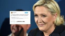Quand Marine Le Pen utilise son compte Twitter anonyme pour recadrer une cadre