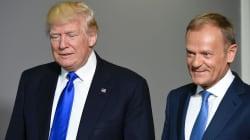 Trump advierte en Bruselas de la pérdida de empleos en Estados Unidos por el