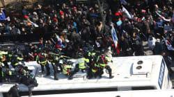 Al menos dos muertos en las protestas contra la destitución de la presidenta de Corea del