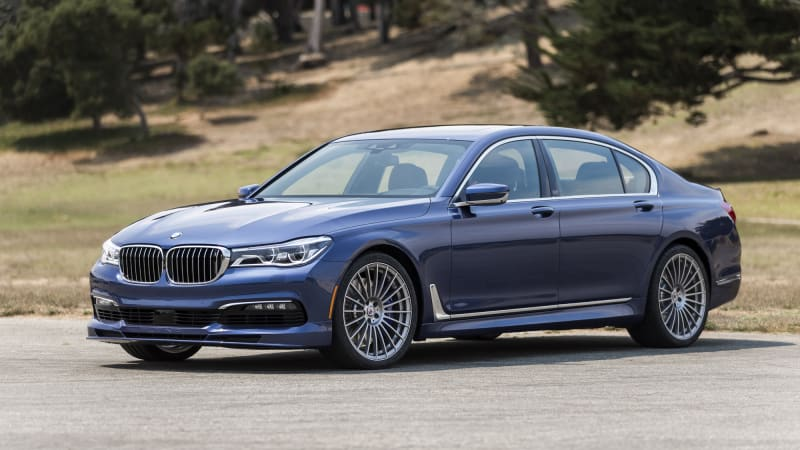 2018 Bmw Alpina B7 Xdrive Drivers Notes Review Bavarian Blue