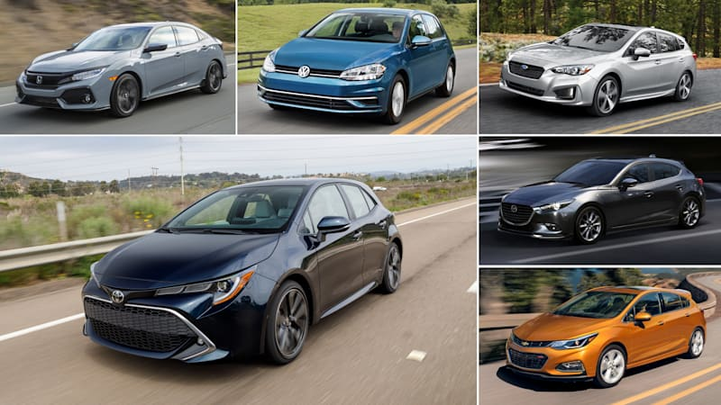 2019 Toyota Corolla Vs Honda Civic And Other Compact Hatchbacks