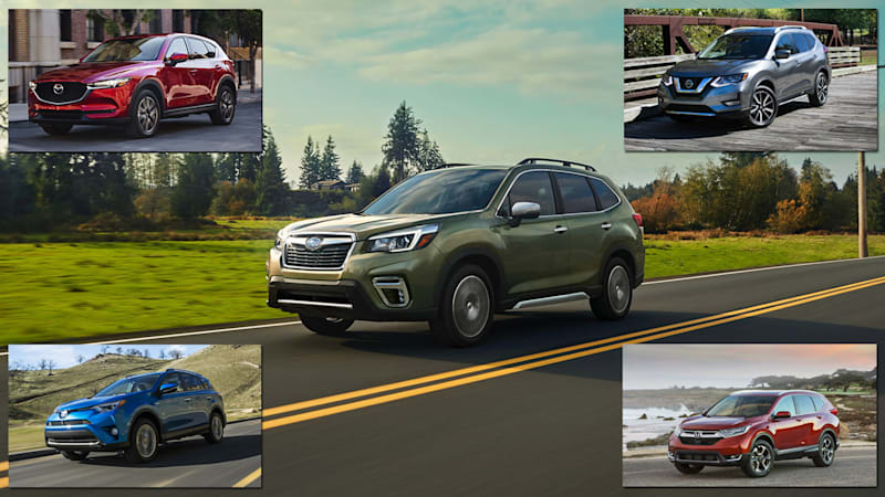 2019 Subaru Forester vs compact SUV rivals: How they compare on paper