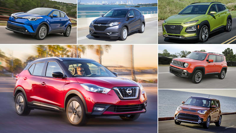 2018 Nissan Kicks vs other tiny crossovers: How they compare on paper