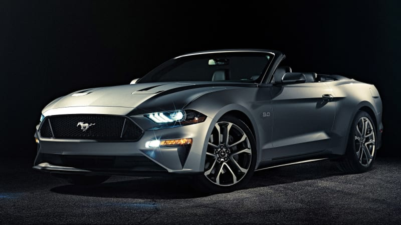 2018 Ford Mustang Convertible Breaks Cover