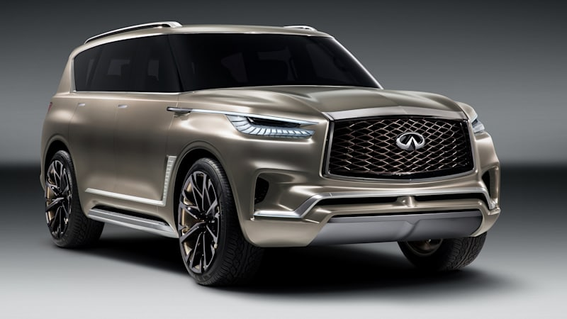The Infiniti QX80 Monograph concept is fully revealed ahead of New York