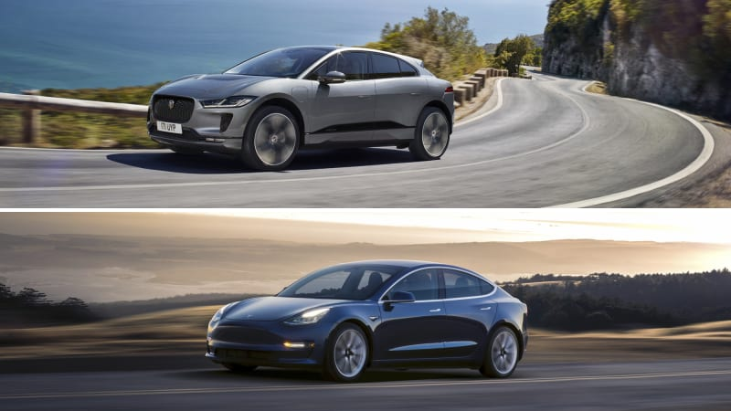 Comparing The Specs Of Jag S New Electric Crossover To Its Ev Rivals