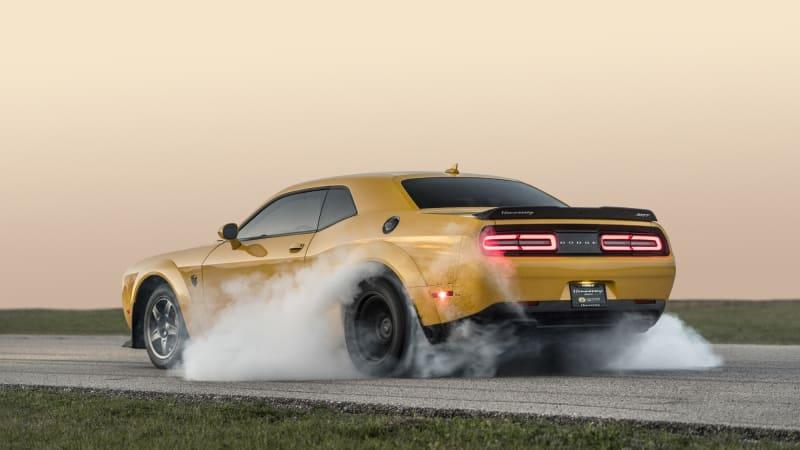 World's fastest Dodge Demon sets scorching quarter-mile time