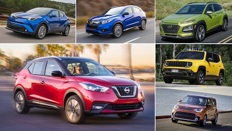 2018 nissan kicks vs. 5 other subcompact crossovers compared - autoblog