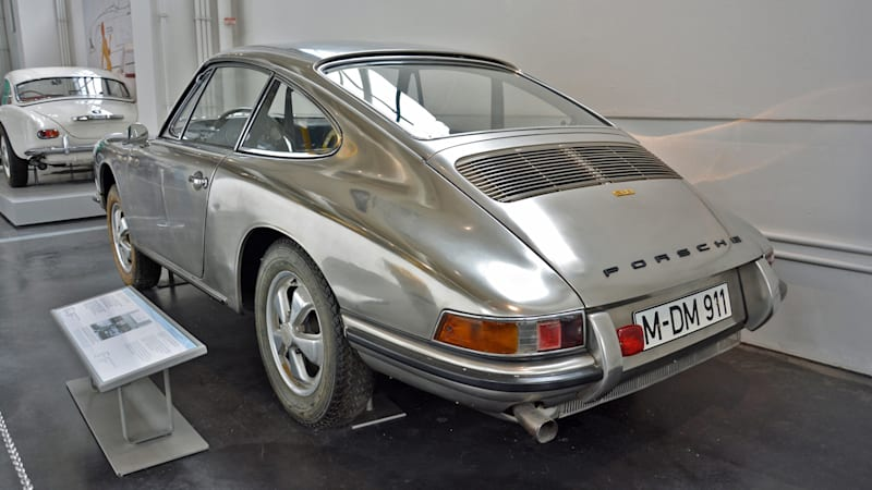 The mystery of the 1967 Porsche 911S with a stainless steel body