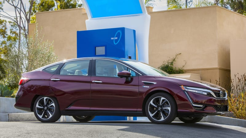 Good News For Californians Interested In Leasing The Honda Claritys Fuel Cell Version Has Announced Cars Have Started Arriving At Select