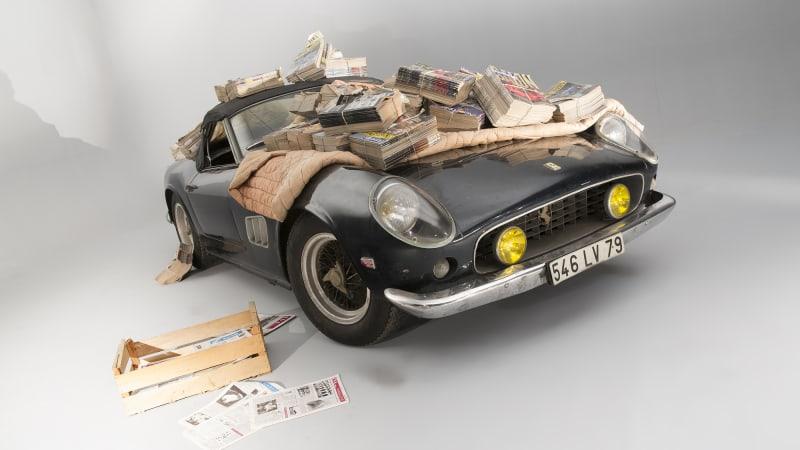Ferrari 250 California Record Headlines 28 5m Baillon Barnfind