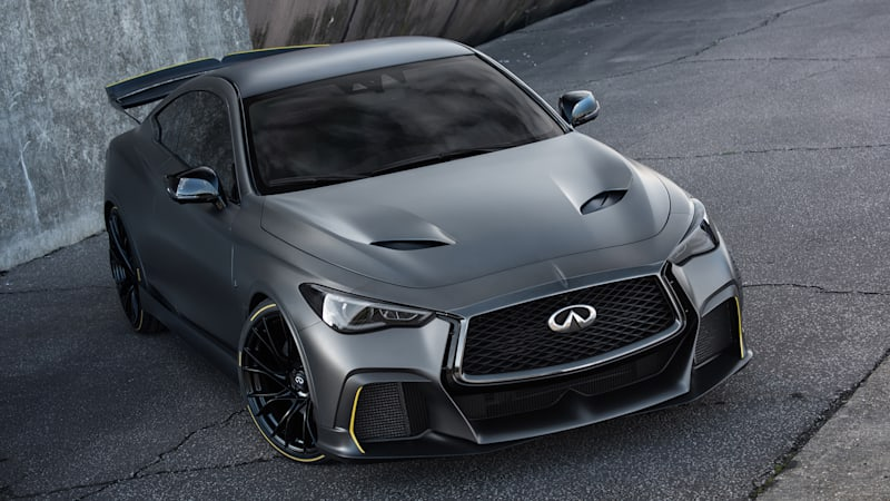 At The 2017 Geneva Motor Show Infiniti Unveiled Project Black S A Souped Up Version Of Q60 Coupe That Packed Technology Derived From Renault