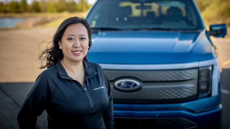 7 Questions with Ford F-150 Lightning engineer Linda Zhang