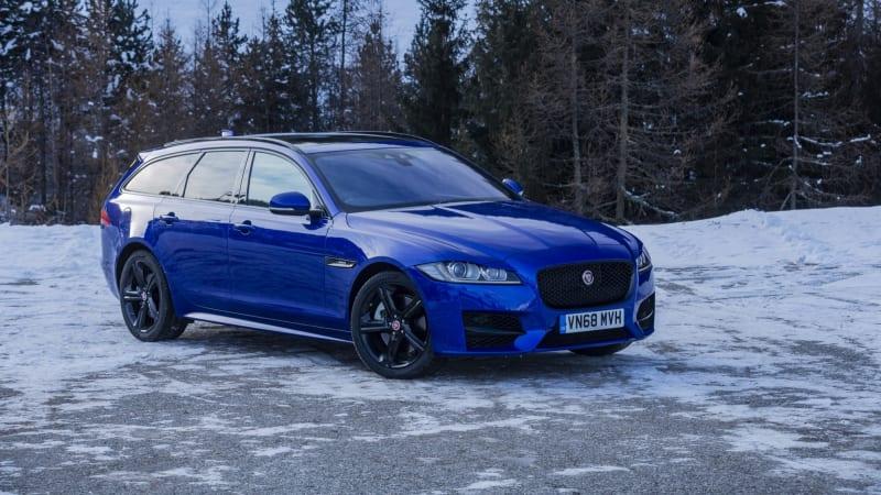 2019 Jaguar Xf Sportbrake 30t Prestige Wagon Winter Driving Review