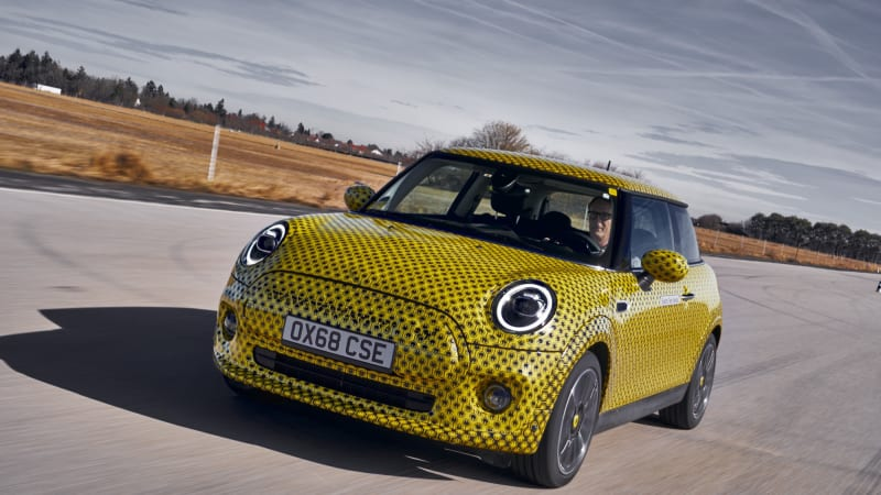 MiniCooper SE Prototype First Drive Review