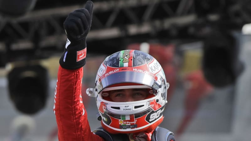 Charles Leclerc takes pole for Italian GP after messy qualifying