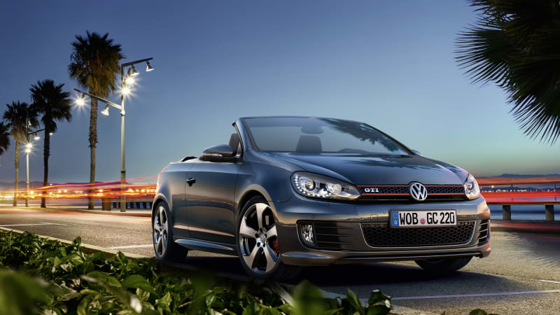 Vw Updates Golf Gti Cabrio Still Doesn T It In The Us