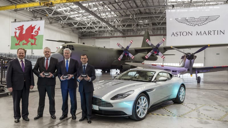 aston martin to turn an air force base into a factory to build dbx