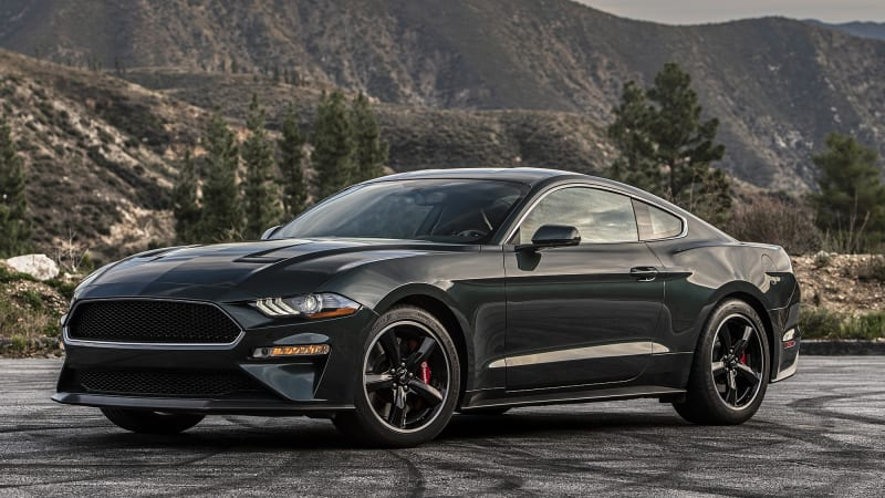 2019 Ford Mustang Bullitt Drivers