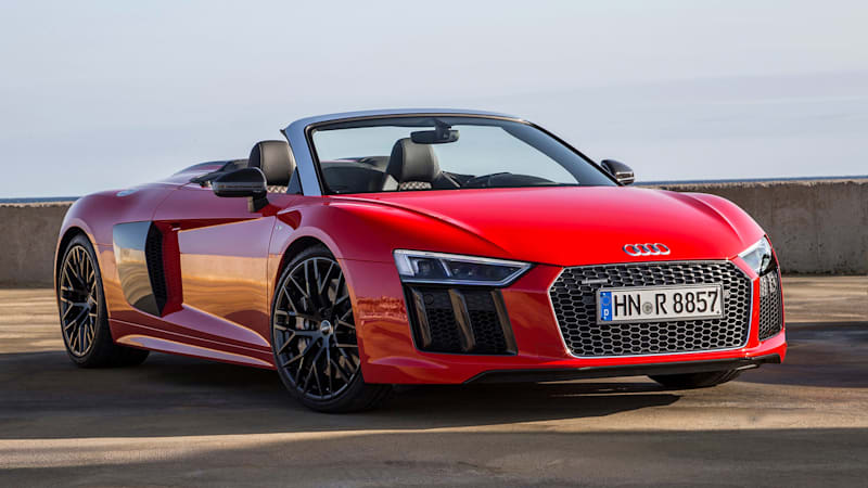 Audi Just Revealed Pricing Info For The R8 Spyder Which Will Start At 176 350 About A Year After Revealing Information Coupe