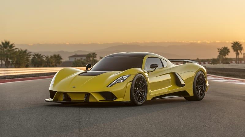 301 mph, 1,600 hp: Hennessey Venom F5 details emerge - Autoblog