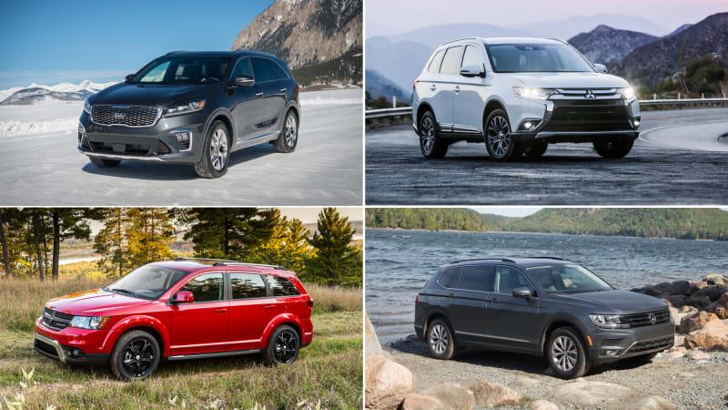 Crossover Comparison Kia Soo Vs Vw Tiguan Dodge Journey Mitsubishi Outlander Autoblog