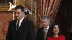 El debut de Sánchez y Robles en la Pascua Militar