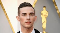 Olympian Adam Rippon's Oscar Tux And Harness Are Gold