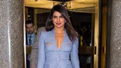 Priyanka Chopra se change cinq fois par