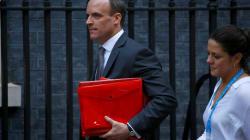 Dimite el ministro británico del Brexit, Dominic Raab (y ya van